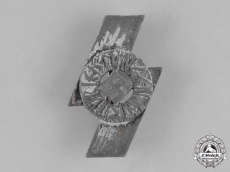 Germany, DJ. A Deutsches Jungvolk (German Young Folk) Achievement Badge by Wilhelm Deumer