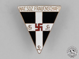 Germany, NS-Frauenschaft. A National Socialist Women's League (Nationalsozialistische Frauenschaft) Member's Badge