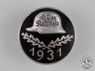 Germany, Der Stahlhelm. A 1931 Stahlhelm Membership Badge