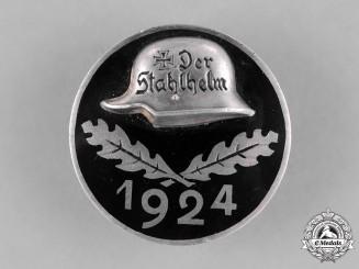 Germany, Der Stahlhelm. A 1924 Stahlhelm Membership Badge