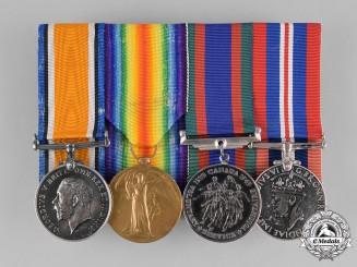 Canada. A Group to Lieutenant Archibald Robert Cumming, Canadian Field Artillery