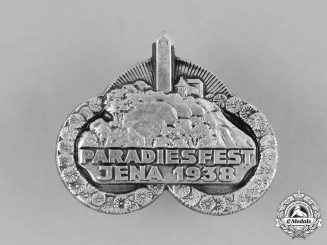 Germany, Third Reich. A 1938 Jena Park Festival Badge