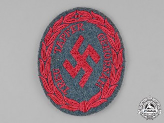 Germany, Ordnungspolizei. A Schutzmannschaft (Guard Units) Sleeve Insignia Patch