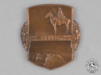 Austria, Imperial. A Cavalry Corps Hauer Medallion