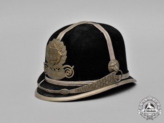 Czechoslovakia. A Municipal Police Helmet of The Protectorate of Bohemia and Moravia, c.1919-1945