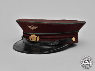Latvia, Republic. A Latvian Railway Visor Cap