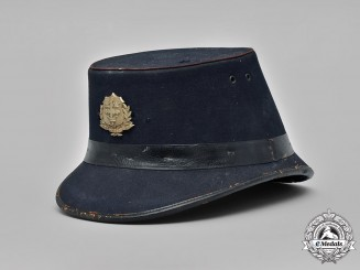 United Kingdom, Police. A Nottingham Police Shako