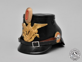 Germany, Weimar Republic. A Police Shako from the Republic of Baden, c.1918-1933