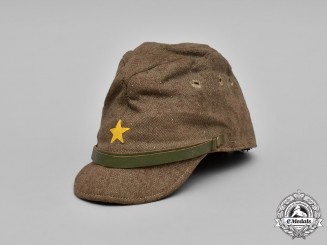 Japan, Empire. An Imperial Japanese Army Enlisted Man's Field Hat