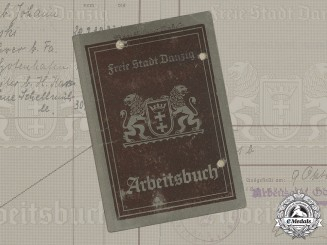 Germany, Third Reich. A Labour Book to Florian Katny