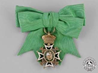 Italy. A Military and Hospitaller Order of Saint Lazarus of Jerusalem, Dame's Breast Badge