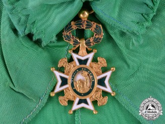 Italy. An Military and Hospitaller Order of Saint Lazarus of Jerusalem, Dame's Grand Cross