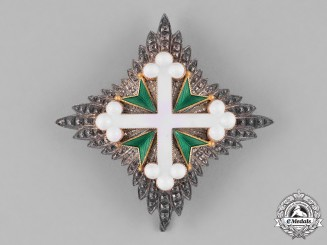 Italy, Kingdom. An Order of St. Maurice and St. Lazarus, I Class Commander Star, c.1900