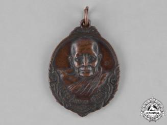 Thailand, Kingdom. A Buddhist Monk Amulet Medal