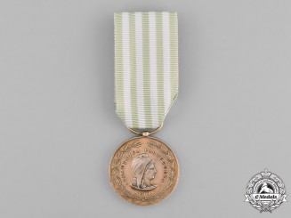 Portugal, Kingdom. An Exemplary Conduct Medal, by J. Sergio, Gold Medal c.1915