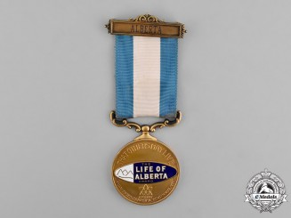 Canada. A Life of Alberta Medal, to Bernard A. Pelster 1966
