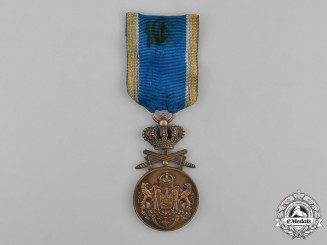 Romania, Kingdom. A Long Service Medal, III Class with Swords, c.1940