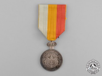 Cambodia, French Protectorate. A Medal of Norodom I, II Class, Silver Grade