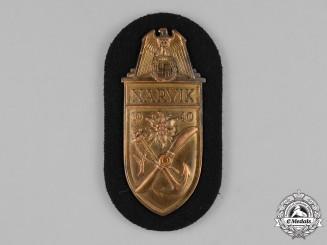 Germany, Kriegsmarine. A Kriegsmarine Narvik Shield