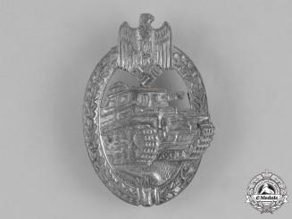 Germany, Heer. A Second War Panzer Assault Badge, Silver Grade, by Rudolf Karneth & Söhne