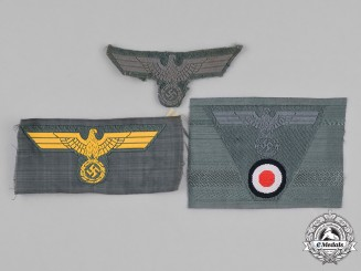 Germany, Heer. A Group of Heer (Army) Eagle Insignia