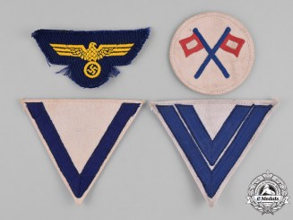 Germany, Kriegsmarine. A Group of Insignia
