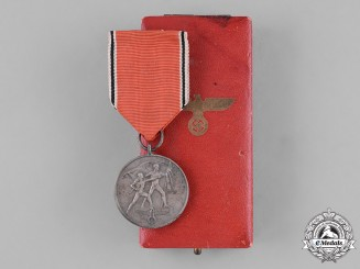 Germany, Third Reich. An Austrian Anschluss Medal, with Case