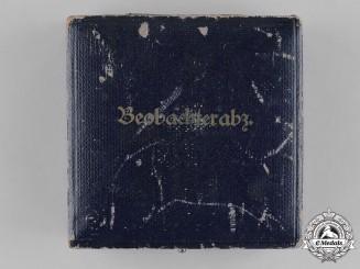 Germany, Luftwaffe. An Observer's Badge Presentation Case