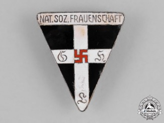 Germany, NS-Frauenschaft. A National Socialist Women's League (NS-Frauenschaft) Membership Badge by Johann Dittrich