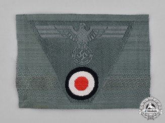 Germany, Heer. A Heer (Army) M43 Field Cap Eagle with Cockade