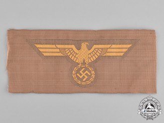 Germany, Kriegsmarine. A Kriegsmarine EM/NCO's Tropical Breast Eagle