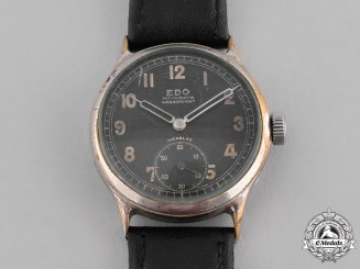 Germany, Wehrmacht. A Second War Period Wehrmacht Wrist Watch