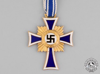 Germany, Third Reich. An Honour Cross of the German Mother, Gold Grade