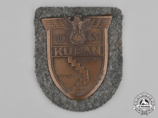 Germany, Heer. A Heer (Army) Issue Kuban Shield