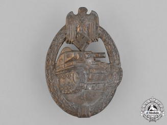 Germany, Wehrmacht. A Panzer Assault Badge, Bronze Grade
