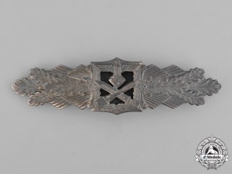 Germany, Wehrmacht. A Close Combat Clasp, Silver Grade, by Josef Felix & Söhne