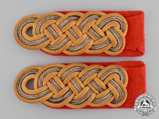 Germany, Heer. A Pair of Heer (Army) Generalmajor Shoulder Boards