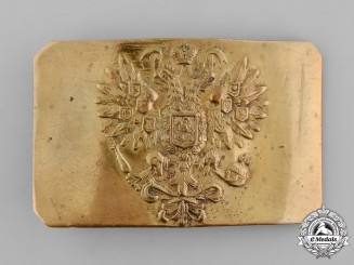 Russia, Imperial. A First War Enlisted Man's Belt Buckle