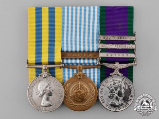United Kingdom. A Korean War Group to Craftsman/Sergeant Lawrence, Royal Electrical and Mechanical Engineers