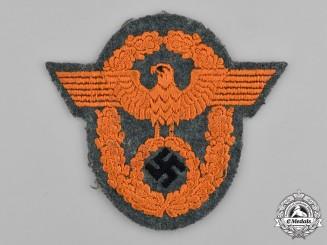 Germany, Ordnungspolizei. A Schutzpolizei Sleeve Insignia