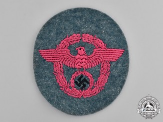 Germany, Feuerschutzpolizei. A Feuerschutzpolizei (Fire Protection Police) Sleeve Eagle