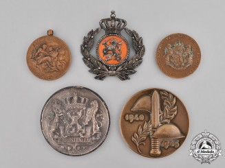 Netherlands, Kingdom. A Grouping of Dutch Badges and Medals