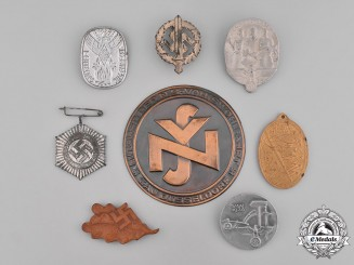 Germany, Third Reich. A Grouping of Third Reich Period Badges