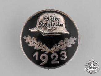 Germany, Weimar. A 1923 Stahlhelm Membership Badge