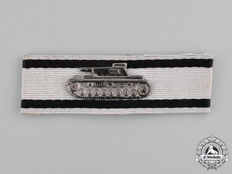 Germany. Wehrmacht. A Tank Destruction Badge, Silver Grade, 1957 Version