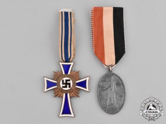 Germany, Third Reich. A Pair of German Medals
