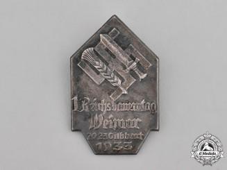 Germany, Third Reich. A 1933 Reichsbauerntag Tinnie