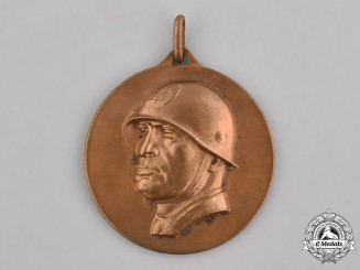 Germany, Third Reich. A Medal Commemorating Mussolini's Visit to Berlin, c.1937