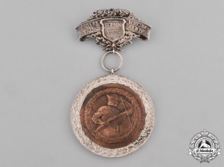 Austria, First Republic. A Club Competition Badge and Medallion Belonging to Herr Bruno Tschepper, 1926