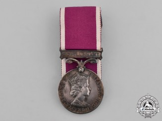 United Kingdom. An Army Long Service and Good Conduct Medal, to Staff Sergeant R.A. Witts, Royal Artillery